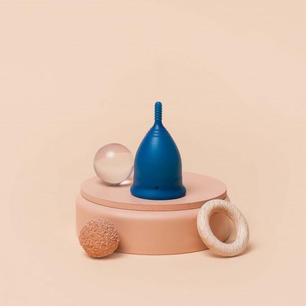 Menstruationstasse divine / Sailor Blue / SOFT
